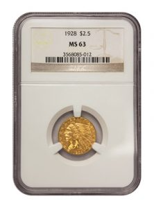 view the $2.50 Gold Indian