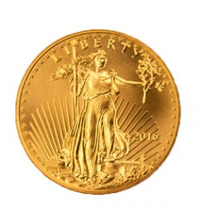 View the Gold American Eagle coin