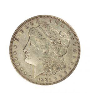 View the Circulated Morgan Silver Dollar