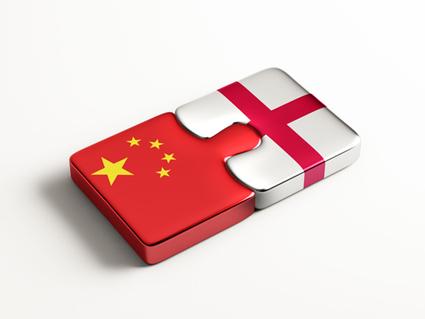 China Buying English Gold