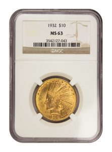 view the $10 Gold Indian