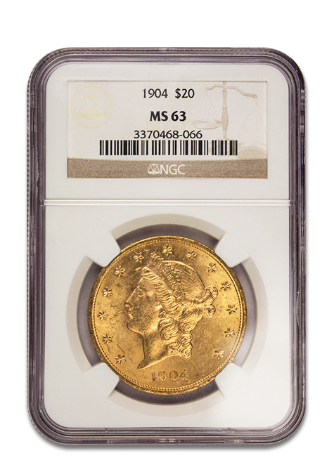 $20 Gold Liberty Coin