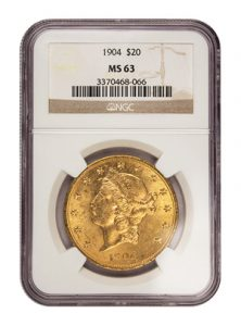 view the $20 Gold Liberty
