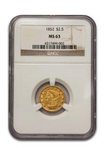 $2.50 Gold Liberty Coin