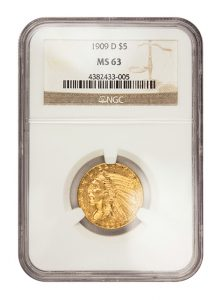view the $5 Gold Indian