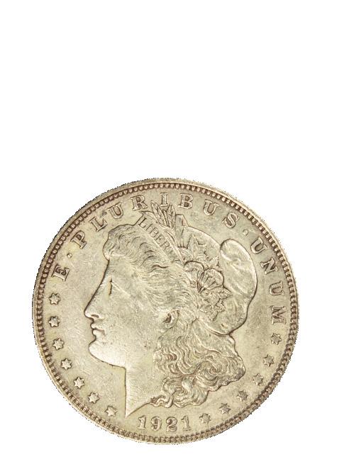 Circulated Morgan Dollar