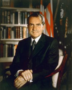 President Richard Nixon closed the Gold Standard 45 years ago in 1971