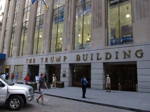 Trump Building Wall Street
