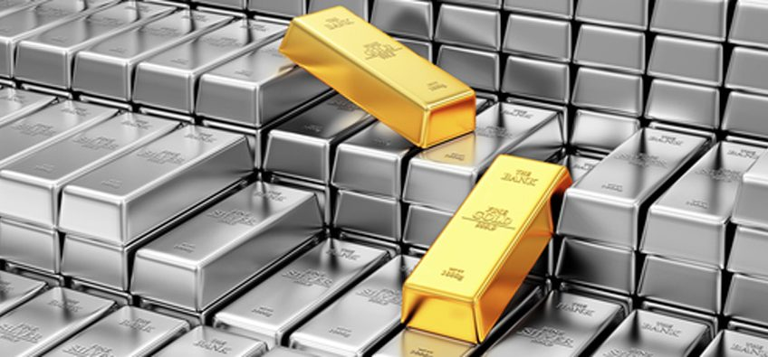 Trading the gold-silver ratio to properly diversify a