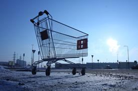 retail slumping