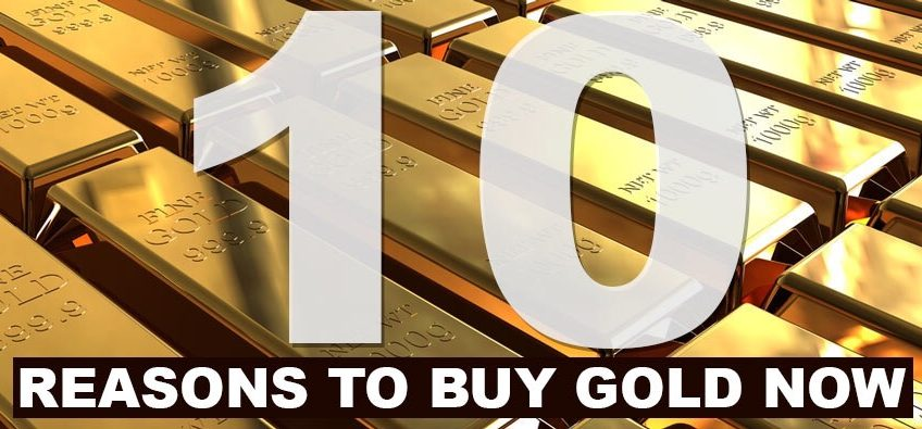 The 10 Reasons too Buy Gold book preview