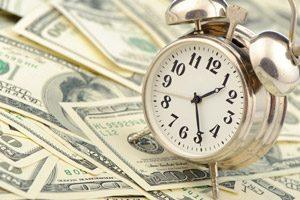 alarm clock on stocks