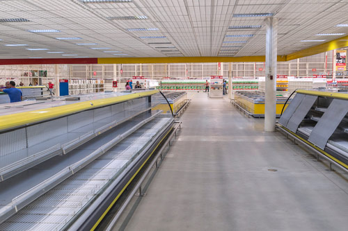 Empty Food Shelves in Venezuela