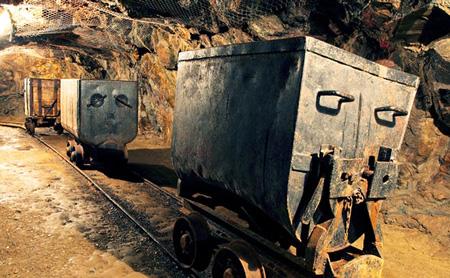 gold mining carts