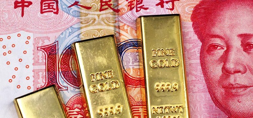 China gold buying spree