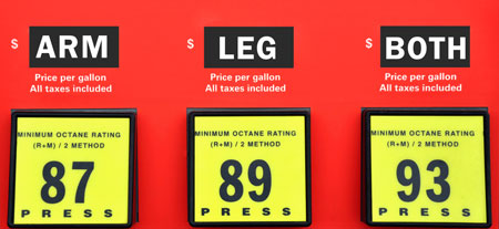 high gas prices ahead