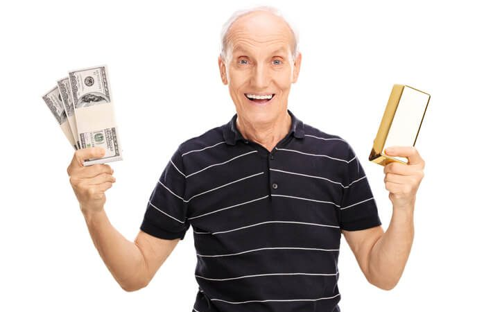 plan for retirement with gold investing